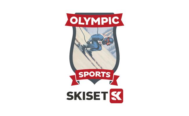 """A 100m du Chalet """"Le Christiania"""".  25 à 55% de réduction* sur la location de votre matériel de skis (*selon la période)  en réservant en ligne ICI (code: OLYMPICCHRISTIANIA)"""
